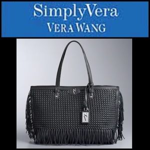 🆕 Simply Vera by Vera Wang Boswell Tote